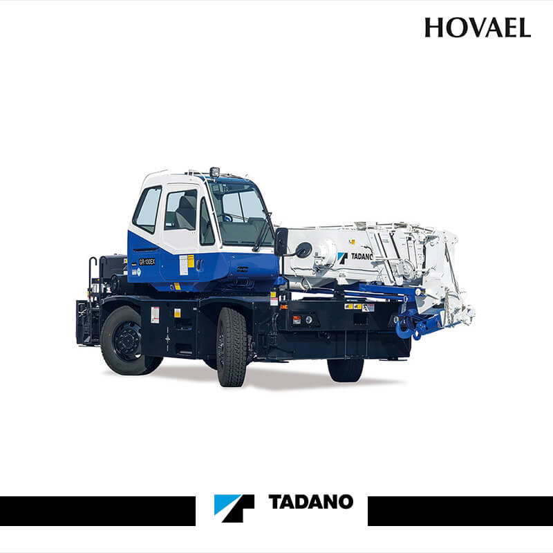 Tadano GR-120NL Rough Terrain Crane – Hovael Group