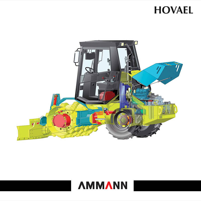 Ammann ASC 30 Single Drum Roller – Hovael Group